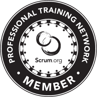 Scrum.org Professional Training Network Member Logo
